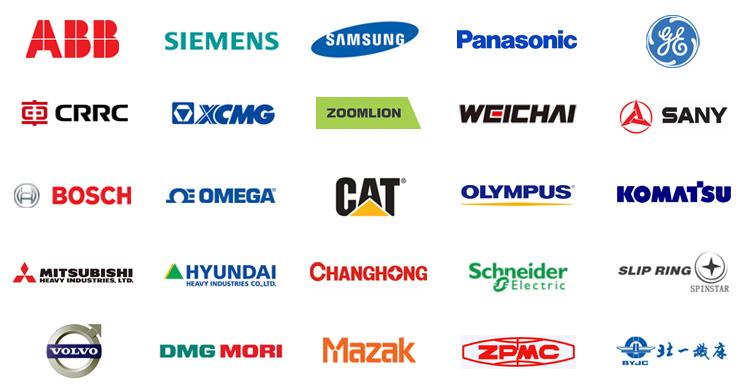 DirectIndustry工业在线展会部分合作客户